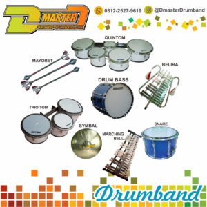 Distributor Alat Drumband dan Marching Band | 0812-2527-9712