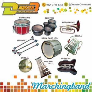 jual alat drumband | 0812-2930-3940